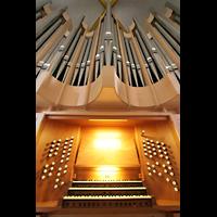 Magdeburg, Kathedrale St. Sebastian (Hauptorgel), Orgel mit Spieltisch