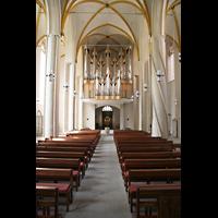 Magdeburg, Kathedrale St. Sebastian (Hauptorgel), Hauptschiff und Eule-Orgel