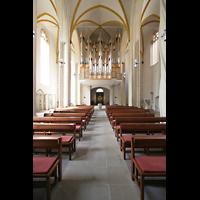 Magdeburg, Kathedrale St. Sebastian (Hauptorgel), Hauptschiff und große Orgel