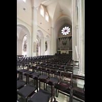 Braunschweig, Dom St. Blasii (Hauptorgel), Hauptschiff und Orgel
