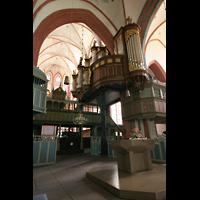 Norden, St. Ludgeri, Orgel am Vierungspfeiler
