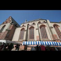 Norden, St. Ludgeri, Chor von außen seitlich