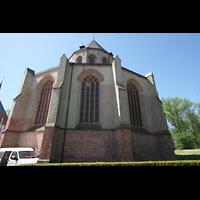 Norden, St. Ludgeri, Chor von außen