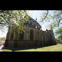 Norden, St. Ludgeri, Außenansicht vom Chor aus