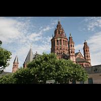 Mainz, Dom St. Martin und St. Stephan, Domtürme