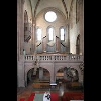 Mainz, Dom St. Martin und St. Stephan, Nordwandorgel im Ostquerhaus