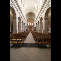 Versailles, Cathédrale Saint-Louis (Hauptorgel), Innenraum / Hauptschiff in Richtung Chor
