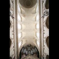 Versailles, Cathédrale Saint-Louis (Hauptorgel), Gewölbe und Orgel