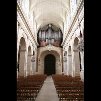 Versailles, Cathédrale Saint-Louis (Hauptorgel), Orgelempore