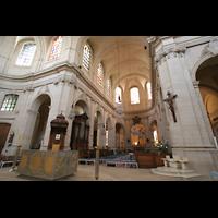 Versailles, Cathédrale Saint-Louis (Hauptorgel), Vierung und Chorraum