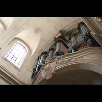 Versailles, Cathédrale Saint-Louis (Hauptorgel), Orgel von unten