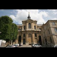 Versailles, Cathédrale Saint-Louis (Hauptorgel), Querhaus von außen