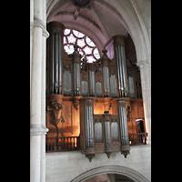 Laon, Cathédrale Notre-Dame, Große Orgel