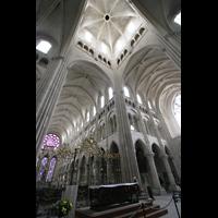 Laon, Cathédrale Notre-Dame, Vierung und Chorraum
