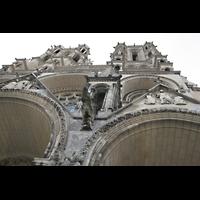 Laon, Cathédrale Notre-Dame, Portalbögen und Türme