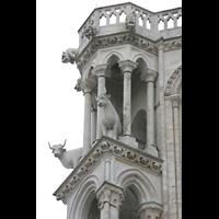 Laon, Cathédrale Notre-Dame, Ochsen an den Türmen