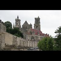 Laon, Cathédrale Notre-Dame, Außenansicht