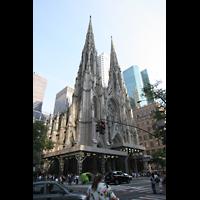 New York (NY), St. Patrick's Cathedral, Türme