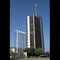 Garden Grove (CA), Christ Cathedral (''Crystal Cathedral''), Glockenturm