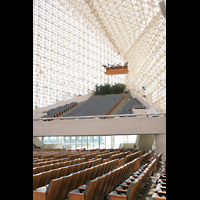 Garden Grove (CA), Christ Cathedral (''Crystal Cathedral''), Orgelempore mit Trompeteria