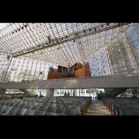 Garden Grove (CA), Christ Cathedral (''Crystal Cathedral''), Innenraum mit Gallery Organ