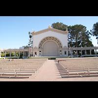 San Diego (CA), Balboa Park, Spreckels Organ Pavilion (Freiluftorgel), Spreckels Orgelpavillon