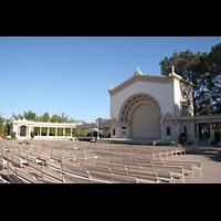 San Diego (CA), Balboa Park, Spreckels Organ Pavilion (Freiluftorgel), Auditorium