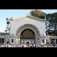 San Diego (CA), Balboa Park, Spreckels Organ Pavilion (Freiluftorgel), Orgel