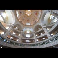 Dresden, Frauenkirche, Kuppel und Emporen