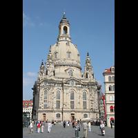 Dresden, Frauenkirche, Ansicht vom Neumarkt aus