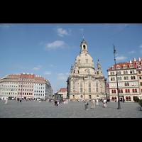 Dresden, Frauenkirche, Neumarkt mit Frauenkirche