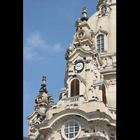 Dresden, Frauenkirche, Fassaden-Detail