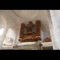 Dresden, Kreuzkirche, Orgelempore