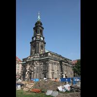 Dresden, Kreuzkirche, Gesamtansicht