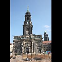 Dresden, Kreuzkirche, Turm