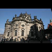 Dresden, Kathedrale Ss. Trinitatis (ehem. Hofkirche), Chor der Kathedrale