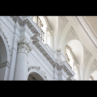 Dresden, Kathedrale Ss. Trinitatis (ehem. Hofkirche), Wand-Detail