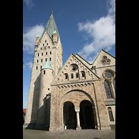 Paderborn, Dom St. Maria, St. Liborius und St. Kilian, Hauptportal und Turm