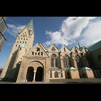 Paderborn, Dom St. Maria, St. Liborius und St. Kilian, Seitenansicht