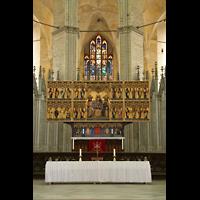 Stralsund, St. Marien, Altar