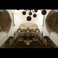 Stralsund, St. Marien, Orgel von unten