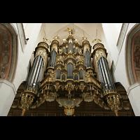 Stralsund, St. Marien, Prospekt der Stellwagen-Orgel