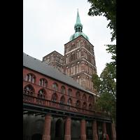 Stralsund, St. Nikolai, Außenansicht