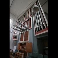 Bremen, Kulturkirche St. Stephani, Orgel und Spieltisch
