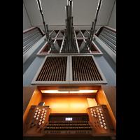 Bremen, Kulturkirche St. Stephani, Spieltisch und Orgelprospekt