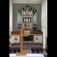 Bremen, Kulturkirche St. Stephani, Blick über den Altar zur Orgel