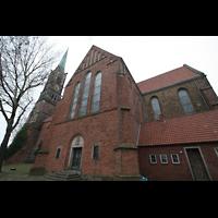 Bremen, Kulturkirche St. Stephani, Außenansicht von der Seite