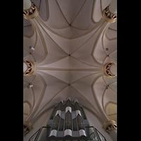 Twistringen, St. Anna, Gewölbe und Orgel