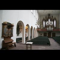 Bremen, St. Ansgarii (Chororgel), Chororgel und Hauptorgel