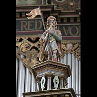 Bremen, St. Ansgarii (Chororgel), Hornspieler-Figur